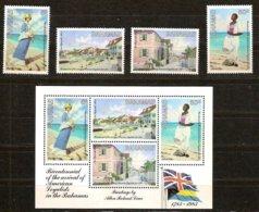 Bahamas 1983 Yvertn° 543-546 Et Bloc 40 *** MNH Cote 8,25 Euro - Bahamas (1973-...)