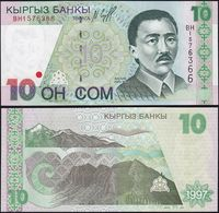 KYRGYZSTAN   200 SOM   1999 UNC - Kirgizïe