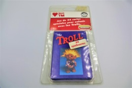 Speelkaarten - Kwartet,The Troll Co- The Cardgame In Blister Box- JEUX TM Habourdin DAM Collectible Playing Cards - 1992 - Playing Cards (classic)