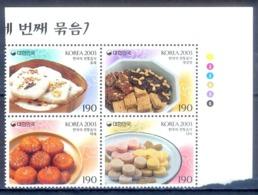G159- South Korea 2003 Korean Foods Gastronomy Gastronomia. - Korea, South