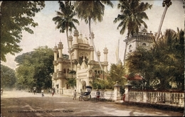 Cp Colombo Ceylon Sri Lanka, Mohammedan Mosquée, Rickscha - Sri Lanka (Ceylon)