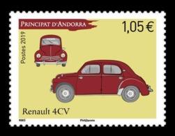 Andorra (FR) 2019 Mih. 855 Car Renault 4CV MNH ** - Andorre Français