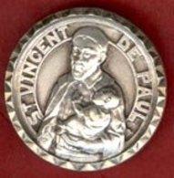 ** MEDAILLE  St.  VINCENT  De  PAUL ** - Religion & Esotericism