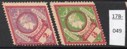 Germany Deutschland Privatpost Local Post Stadtpost : Bochum Mi. A. 32/33FA. Mint No Gum. - Private