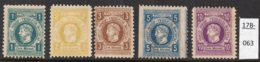 Germany Deutschland Privatpost Local Post Stadtpost : Bochum Mi. A.56A-60A. Poor Mint(5) - Private