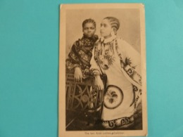 ZANZIBAR THE TWO ARAB LADIES - Tansania