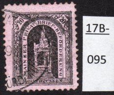 Germany Deutschland Privatpost Local Post Stadtpost :  Mainz Mi. C. 35A Used - Private