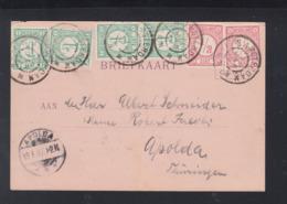 Postkaart Amsterdam 1897 - Briefe U. Dokumente