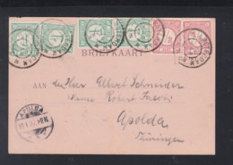 Postkaart Amsterdam 1897 - 1891-1948 (Wilhelmine)