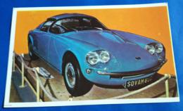 """SOVAM 850 # Altes Sammelbild Aus Der Serie """"AUTO 1967"""" Vom Sicker-Verlag In Frankfurt/M. # [19-2274] - Alte Papiere"""