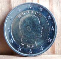 2 EUROS ALBERT II MONACO 2019 - Monaco
