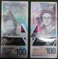 Eastern Caribbean St - 100 Dollars 2019 UNC Polymer Lemberg-Zp - Caraibi Orientale