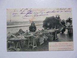 CPA 31 HAUTE GARONNE - TOULOUSE : Types De La Rue - Les Marchandes De Fruits Du Pont-Neuf - Toulouse