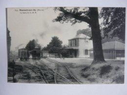 CPA 51 MARNE - MAREUIL SUR AY : La Gare Du C. B. R. - Mareuil-sur-Ay