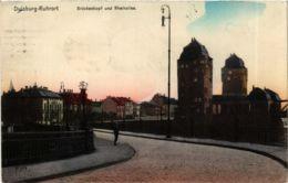 CPA AK Duisburg- Ruhrort- Bruckenkopf Und Rheinallee GERMANY (901354) - Duisburg