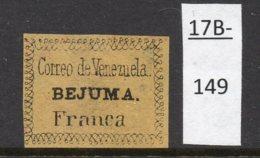 Venezuela - 1854 BEJUMA Local - FRANCA - Railway Interest, See Text - Venezuela