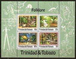 Trinidad & Tobago Trinite 1982 Yvertn° Bloc 35 *** MNH Cote 10 Euro Folklore - Trinité & Tobago (1962-...)