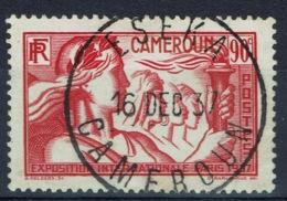 French Cameroon, 90c., Exposition Internationale, Paris, 1937, VFU superb Postmark From Eséka - Cameroun (1915-1959)