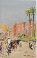AK 0330  Wuttce , C. - Alexandria ( Platz Mohamed Ali ) / Künstlerkarte Um 1910-20 - Alexandria