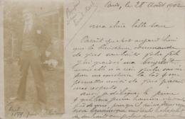 Photographie - Carte-Photo - Jeune Homme Paul Photographié Par Lui-même - 1902 Paris - Fotografía