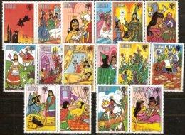 Belize 1980 Yvertn° 495/502 Avec Vignette *** MNH Cote 27,50 Euro Année De L' Enfant - Belize (1973-...)