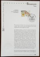 FDC Sur Document - YT N°3387 - BESANCON - 2001 - FDC