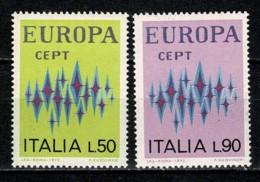 Italia 1972 EUROPA Yv. 1099/1100**,  MNH - 6. 1946-.. República
