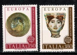 Italia 1976 EUROPA Yv. 1262/63**,  MNH - 6. 1946-.. República