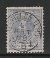 Kleinrond  Mechelen (Limb) Op Nr.19 Willem III  CW. 22,50 - 1852-1890 (Wilhelm III.)