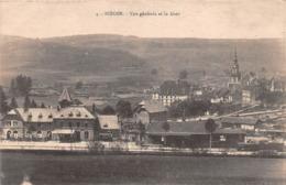 57 - Bitche - Beau Cliché De La Ville - La Gare - L'Eglise - Bitche