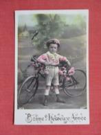 RPPC    Child With Bicycle       Ref 3640 - Children