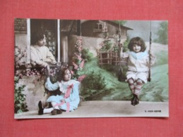 RPPC    Child On Swing      Ref 3640 - Children