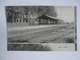 CPA 51 MARNE - OIRY : La Gare - Francia