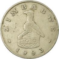 Monnaie, Zimbabwe, Dollar, 1993, TB+, Copper-nickel, KM:6 - Zimbabwe