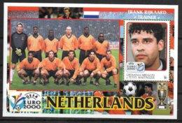 GRENADE CARRIACOU  BF ( Pays Bas )  * * Euro 2000 Football  Soccer Fussball Rijkaard - Europei Di Calcio (UEFA)