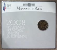 0051 - 2 EUROS COMMEMORATIVE - 2008 - Présidence De L'UE - Blister - France