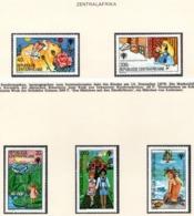 YEAR INTERN. OF CHILD - REP. CENTROAFRICANA  - Mi. Nr. 643/647 - NH - (6532-3.) - Repubblica Centroafricana