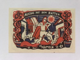Allemagne Notgeld  Hameln 50 Pfennig - [ 3] 1918-1933 : République De Weimar