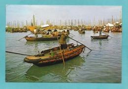 CINA CHINA HONG KONG SHAUKIWAN A MAIN FISHING CENTER 1969 - Cina (Hong Kong)