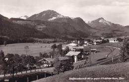 Pfaffenschwendt (Fieberbrunn) * Eisenbahn, Kitzbühler Horn, Gebirge, Tirol, Alpen * Österreich * AK992 - Fieberbrunn