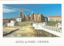 Postcard The Hotel De Paris Cromer Norfolk My Ref  B23801 - Angleterre