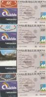 SERIE 4 MINIASSEGNI CASSA RURALE DI MOENA (YA874 - [10] Assegni E Miniassegni