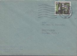 BRD 271 EF, Auf Ortsbrief, Stempel: Krefeld 11.9.1959 - BRD