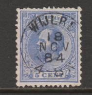 Kleinrond  Wijlre Op Nr.19  Willem III  CW. 17,80 - Period 1852-1890 (Willem III)