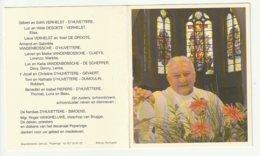 Doodsprentje Ignace D'HUVETTERE Ruiselede 1944 Priester Roeselare Westrozebeke Reninghelst Heuvelland-West Ieper 2007 - Devotion Images