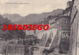 CAVA DEI TIRRENI - BADIA CHIOSTRO  F/GRANDE VIAGGIATA 1957 - Cava De' Tirreni