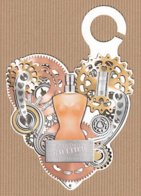 CC Carte Parfumée 'JEAN PAUL GAULTIER' #59 'VALENTINE' JPG Perfume Card - Modernes (à Partir De 1961)