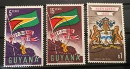 GUYANA - (0) - 1966 - # 20, 21, 23 - Guyana (1966-...)