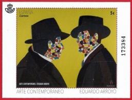 España. Spain. 2018. HB. Arte Contemporaneo. Eduardo Arroyo - 1931-Heute: 2. Rep. - ... Juan Carlos I
