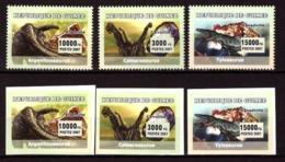 Guinea, 2007. [gu-37] Dinosaurs (perf+imperf) - Préhistoriques